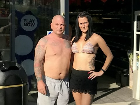 'Sexist' Tesco staff banned topless man but let his bikini-wearing wife in
