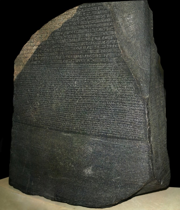 Rosetta Stone (Photo by VCG Wilson/Corbis via Getty Images)
