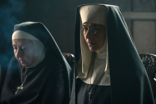 WARNING: Embargoed for publication until 00:00:01 on 27/08/2019 - Programme Name: Peaky Blinders V - TX: n/a - Episode: Peaky Blinders V Ep 3 (No. 3) - Picture Shows: Mother Superior (Kate Dickie) - (C) Caryn Mandabach Productions Ltd. 2019 - Photographer: Matt Squire
