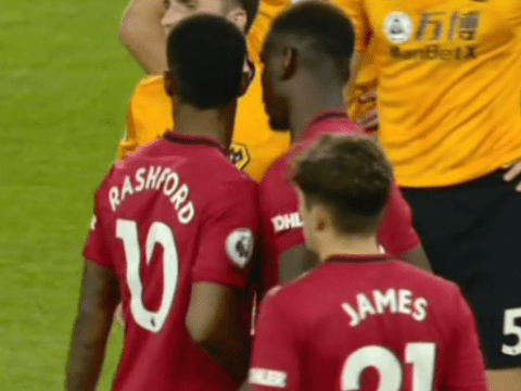 What Marcus Rashford told Paul Pogba before penalty miss vs Wolves