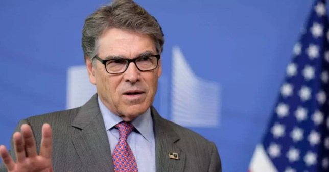 Rick Perry is the US Secretary for Energy (Getty)