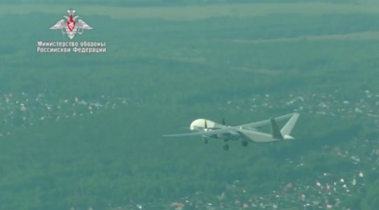 The Russian Altius-U drone on its maiden flight (YouTube)