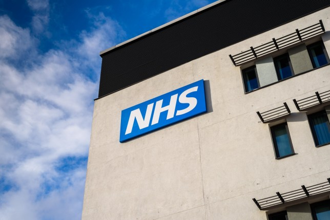 WARRINGTON, UK - MARCH 6, 2016: View of the NHS (National Health Service) logo at the Springfields Medical Centre in the centre of Warrington, Cheshire.; Shutterstock ID 393927661
