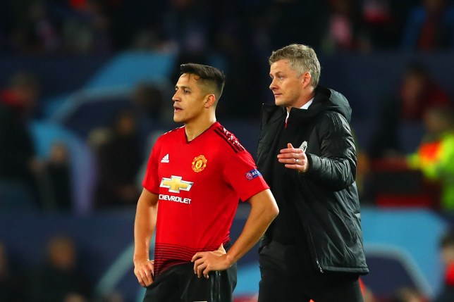 Ole Gunnar Solskjaer wants Alexis Sanchez out of Manchester United