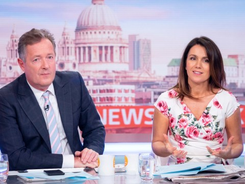 Piers Morgan and Susanna Reid reveal secret feud that saw them 'behave appallingly' during drunken night out
