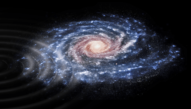 This is the Milky Way, the galaxy our species calls home