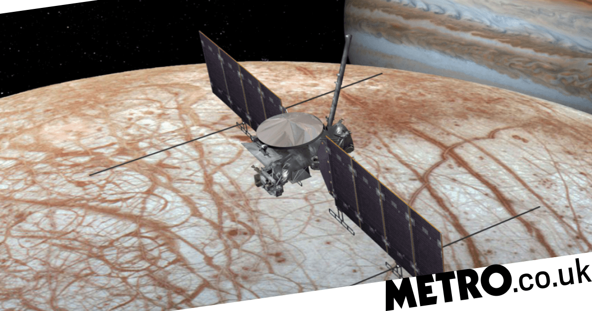 Octopus-like aliens 'could be living in a hidden ocean on Jupiter's moon Europa'