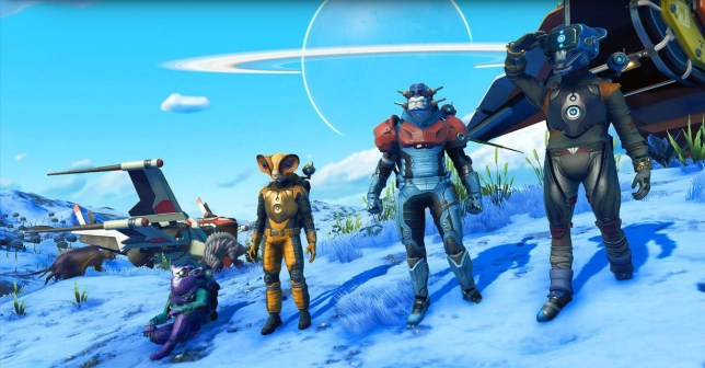 No Man's Sky Beyond (PS4) - the ever expanding space adventure