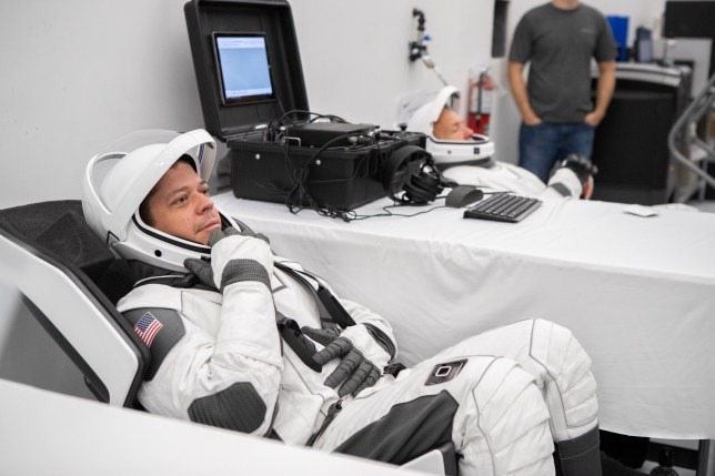 Our first glimpse of SpaceX's futuristic space suit (Nasa/SpaceX)