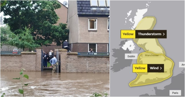 UK weekend weather forecast as Met Office issues warning for wind and rain