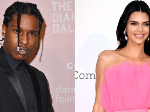 A$AP Rocky celebrates release from Swedish jail by rubbing shoulders with Kendall Jenner at Kanye's Sunday Service