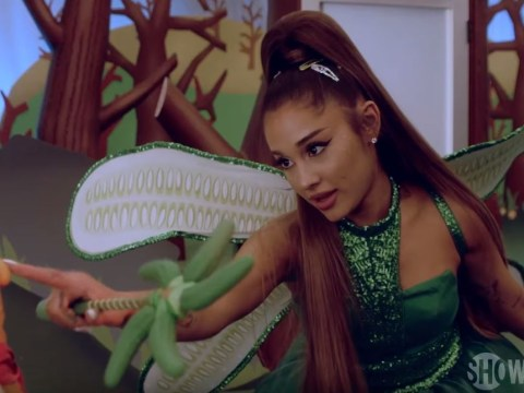 Ariana Grande joins forces with new BFF Jim Carrey in Kidding season 2 trailer
