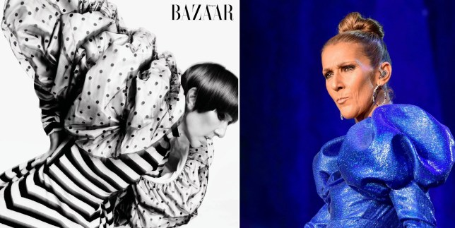 Celine Dion is a fierce queen on limited edition covers of Harper's Bazaar magazine