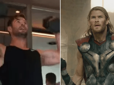 Chris Hemsworth works out with YouTuber Erik Conover to get a body like Thor and it's brutal