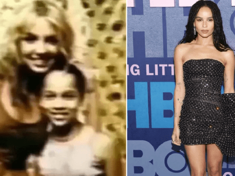 Zoe Kravitz shares the most important throwback photo with Britney Spears and someone fan us down please