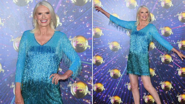 Anneka Rice - Strictly Come Dancing 2019 launch night