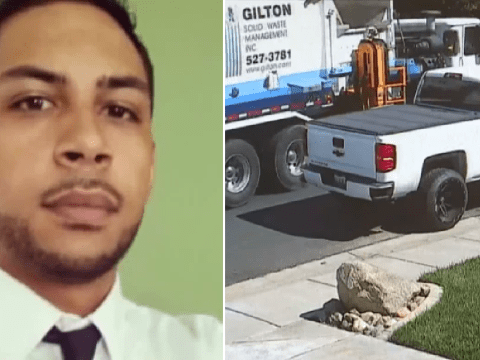 Distressing moment garbage man was crushed to death by his 'faulty' truck