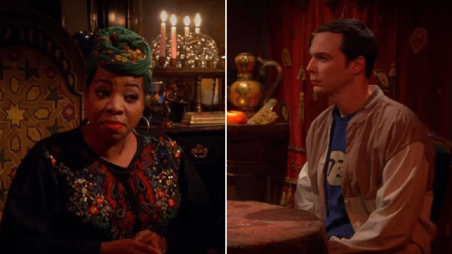 Sheldon and Penny see a psychic on Big Bang Theory