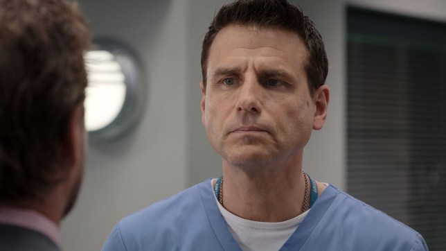 David to the rescue in Casualty