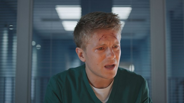 Etahn despairs in Casualty
