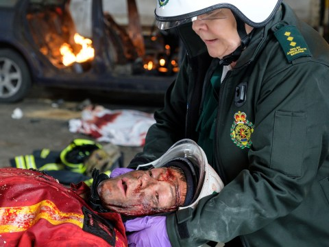Casualty spoilers: Trailer reveals Ethan in fatal explosion and tragedy for David