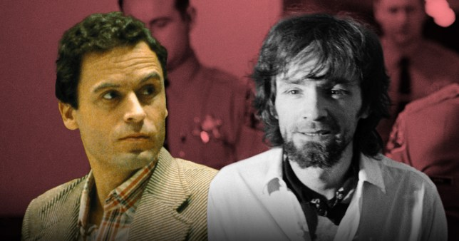 Fans of serial killers Ted Bundy and Charles Manson have been engaged in a bizarre Twitter feud