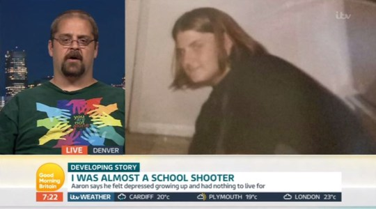 Good Morning Britain guest was 'almost a mass shooter'