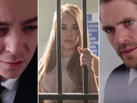 Hollyoaks spoilers: Finn O'Connor attacks Laurie Shelby in prison van escape leaving Sinead in danger