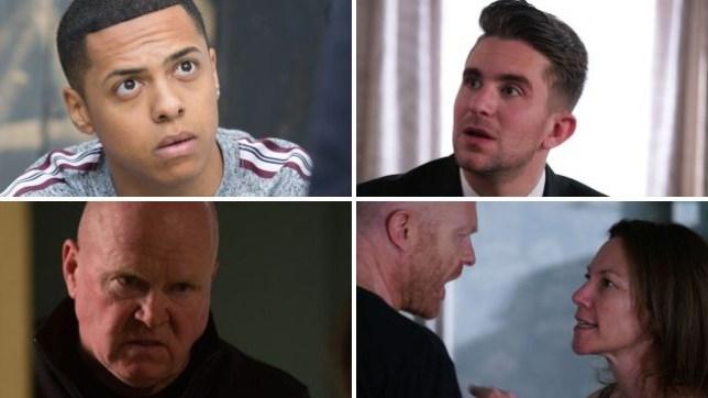 EastEnders spoilers: Phil's killer revenge, Hunter prison