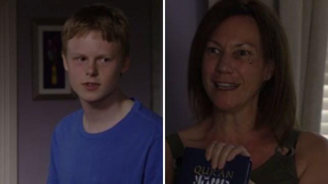 Rainie and Bobby in EastEnders