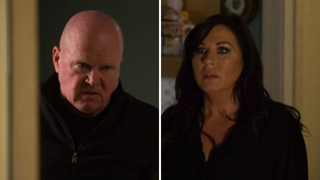 Phil and Kat in EastEnders