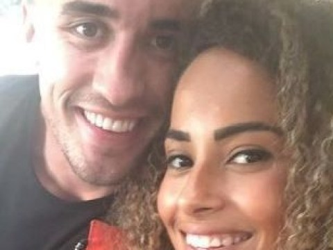 Love Island winners Amber Gill and Greg O'Shea all smiles as they finally reunite in Ireland