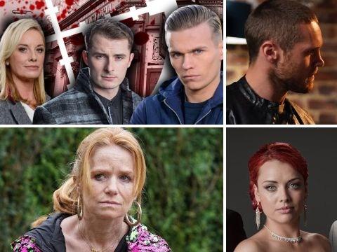 10 EastEnders spoilers: Violent death, gun siege, wedding and two returns