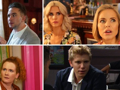 12 soap spoiler pictures: Two Coronation Street returns, Ben EastEnders horror, Emmerdale funeral and Hollyoaks baby shock