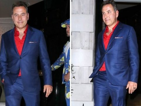 David Walliams sparks speculation as he sports new ring on swanky night out