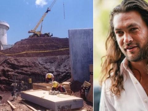 Jason Momoa threatens bulldozer injury may halt Aquaman 2 as he protests Hawaii construction