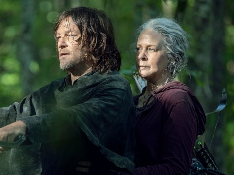 The Walking Dead boss thinks Daryl and Carol are 'soulmates' and teases huge storyline