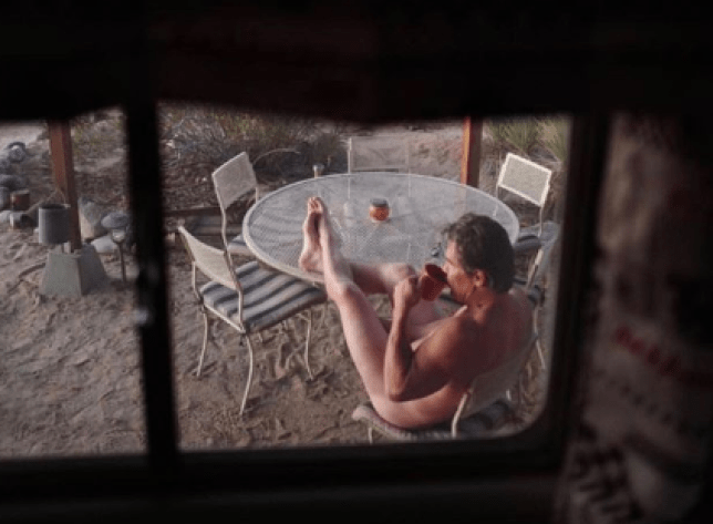 Josh Brolin strips completely naked in outdoorsy snap as he pens poem about 'sex eyes'