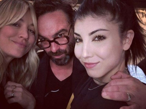The Big Bang Theory's Kaley Cuoco and Johnny Galecki have finally reunited for first time since finale