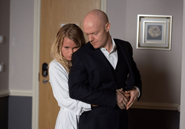 Lucy Beale and Max in EastEnders