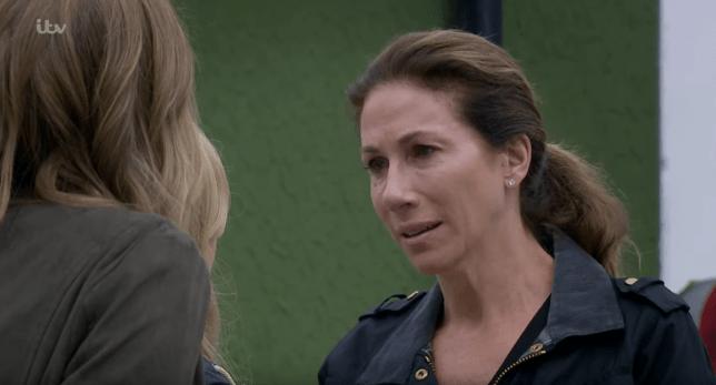 Megan breaks down in Emmerdale