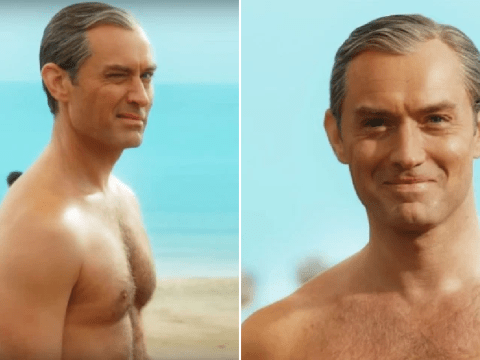 Jude Law turns heads in salacious teaser for The New Pope