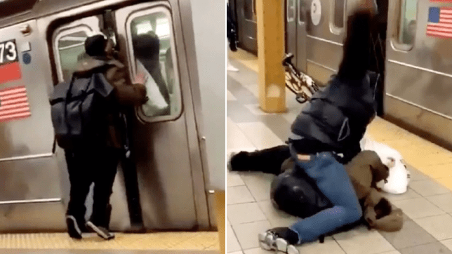 Passenger in New York gets knocked out