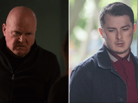 What did Ben Mitchell do to Phil Mitchell in EastEnders?