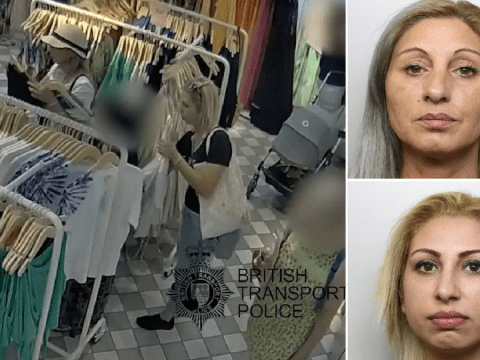 Pickpockets target mum with pram during stealing spree caught on CCTV