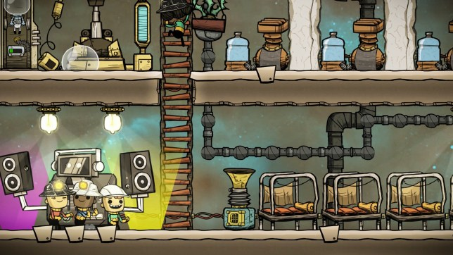 Oxygen Not Included (PC) - surviving in space is hard