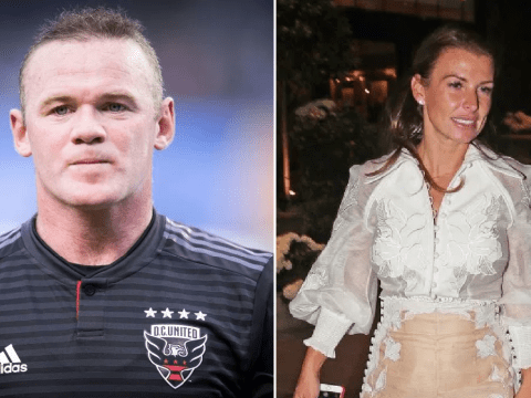 Wayne Rooney seen 'getting into a hotel lift with mystery woman' after 'seven hour bender'