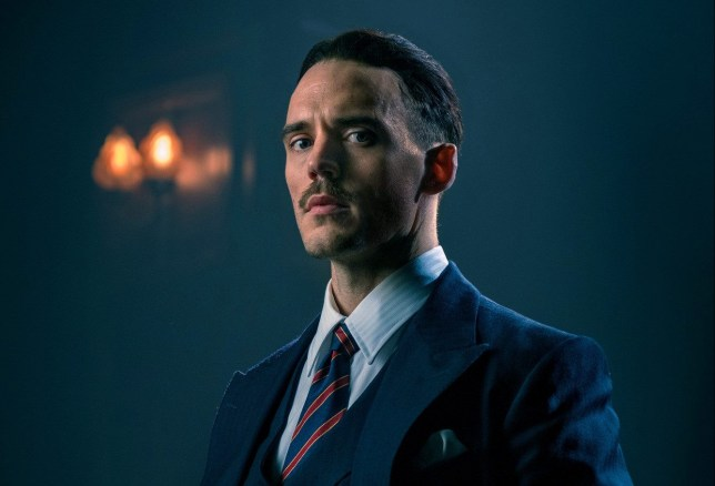 Image result for oswald mosley peaky blinders