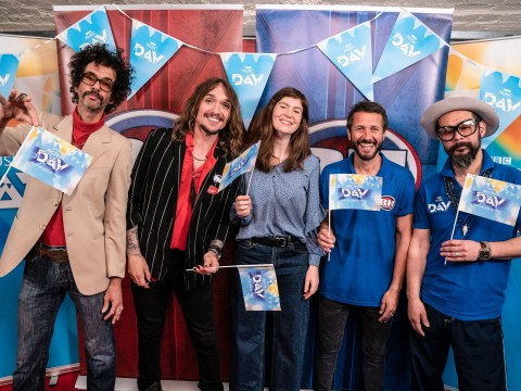 The Darkness just took on Feeder in Bargain Hunt and it was every inch as surreal as you're imagining