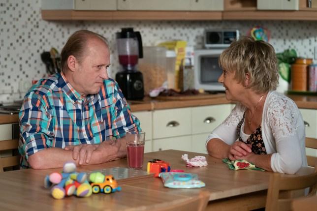Jean supports Daniel in EastEnders